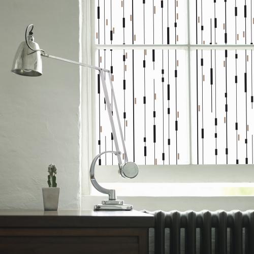 Graphic wires window film