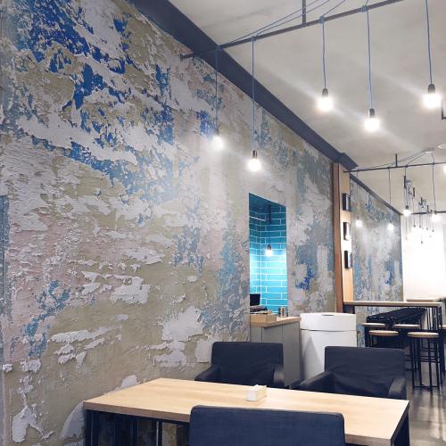 Panoramic wallpaper Surface 1715
