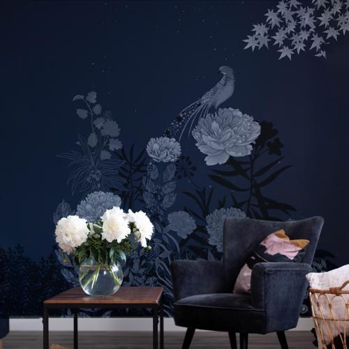 Nocturnal pheasant wallpaper