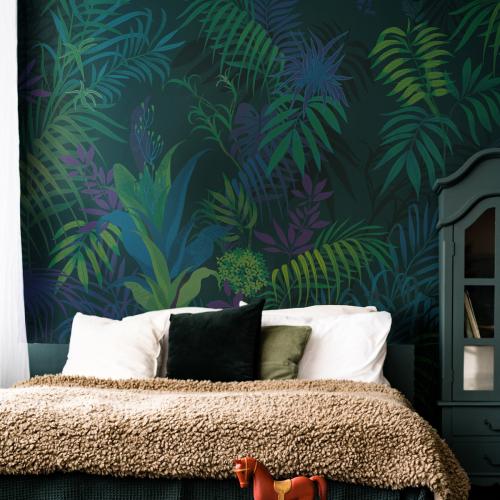 Jungle Chamarée Wallpaper