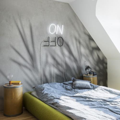 Concrete bamboo Panoramic Wallpaper