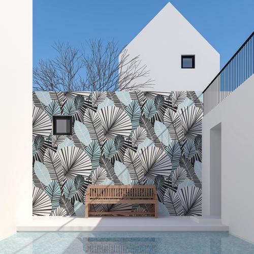 Papier-peint Extérieur Tropical
