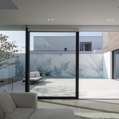 Wallpaper Ext - Tropical shadows