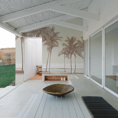 Papier-peint Extérieur Palm trees