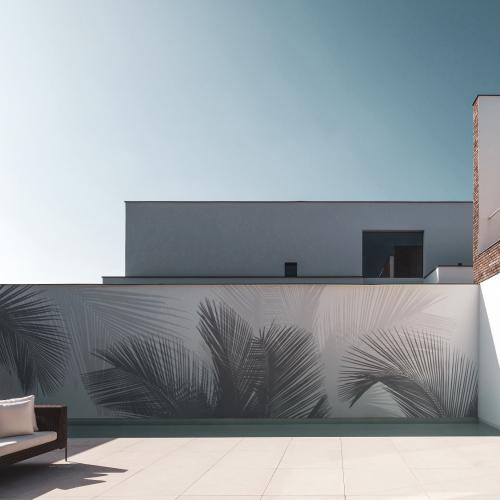Papier-peint Extérieur Palm beach