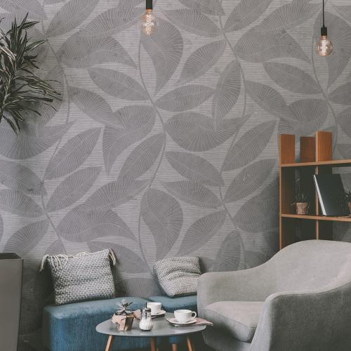 Tropical lines Panoramic Wallpaper