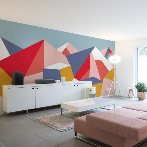 The great paradise panoramic wallpaper