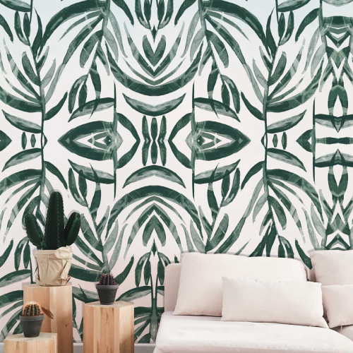 Ethnique Panoramic wallpaper