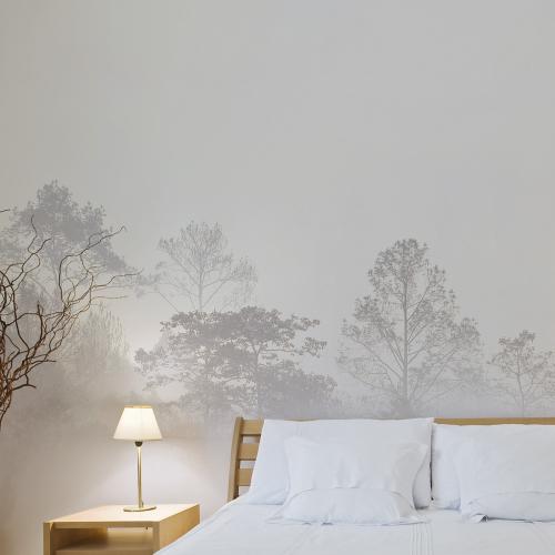 Papier peint panoramique Quiet landscape 03