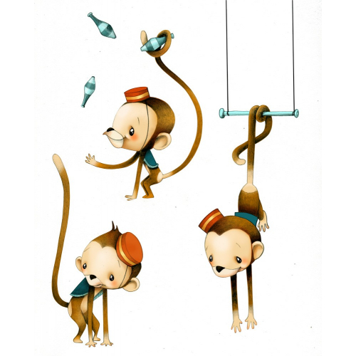 Circus 1 - Petits singes