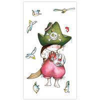 Pirata debout