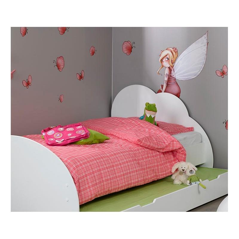 planche f e assise et papillons sticker. Black Bedroom Furniture Sets. Home Design Ideas