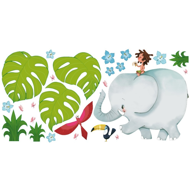 wall stickers jungle jungle large wall stickers