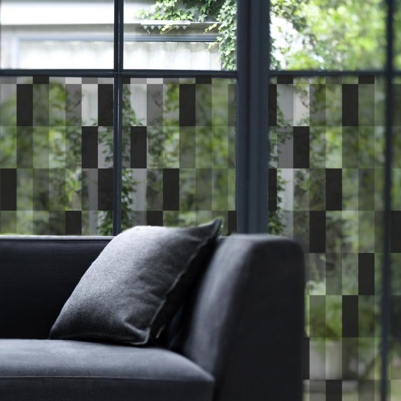vitrail noir film d coratif pour vitres. Black Bedroom Furniture Sets. Home Design Ideas