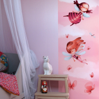 """Wall paper """"In the fairy tales"""""""