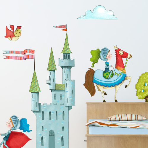 Castle wall stickers
