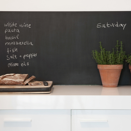 Slate wall stickers