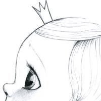 Tableau My little king-bw