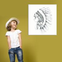 Canvas My little big one-bw