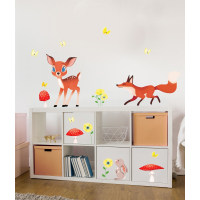 In the woods wall stickers