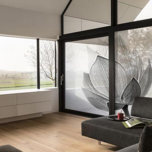 Tissus adhésifs pour vitres personnalisés