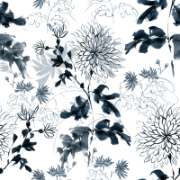 Wallpapers Ext Blue flowers