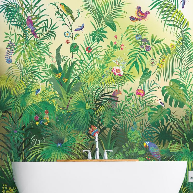 Papier Peint Jungle Original ...