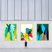 Fresque murale Colorful