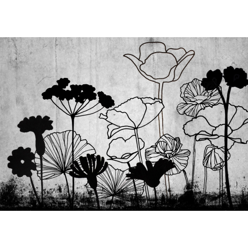 Fresque murale Fowers