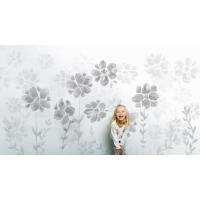 Poetry of Flowers Wallpaper NB - grey