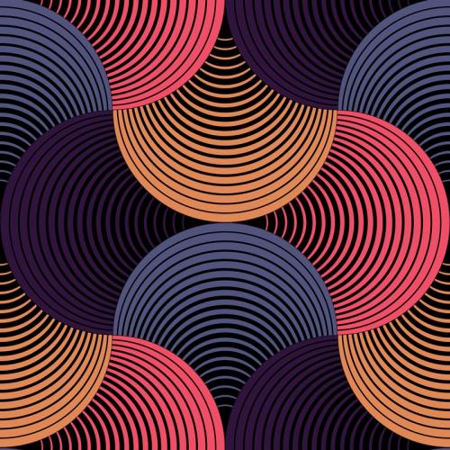 Wallpapers Ext Geometric petals