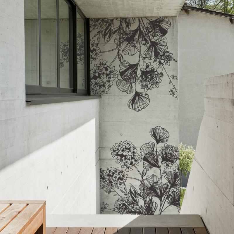 Papiers peints d'extérieur personnalisés