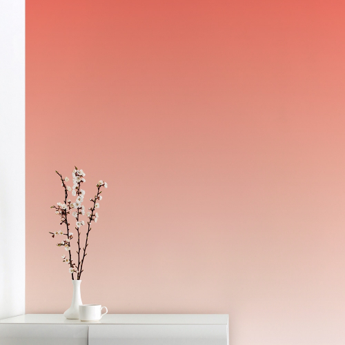 Wallpaper Living Coral