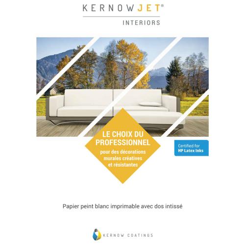 Livret papiers peints structurés Kernow Jet