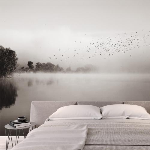 Papier peint panoramique Brumes matinales 06