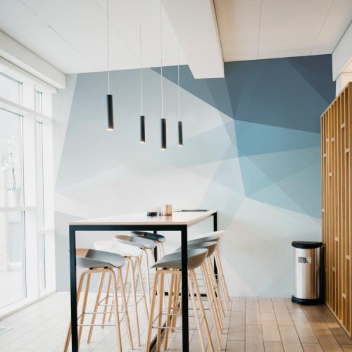 Geometric 04 panoramic wallpaper