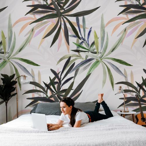 Twig panoramic wallpaper
