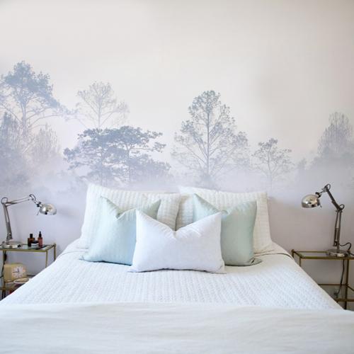 Papier peint panoramique Brumes matinales 08