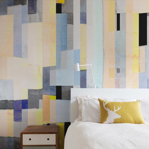 Watercolor 02 panoramic wallpaper