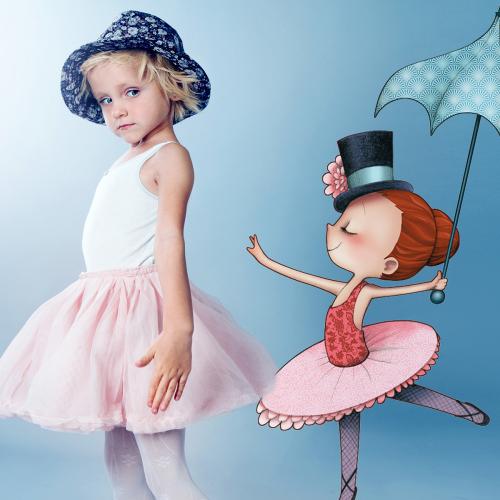 Circus 1 -  Dancing girl
