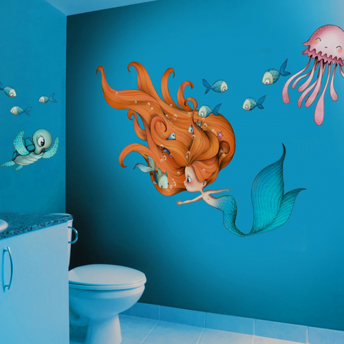 Siren and cie wall stickers