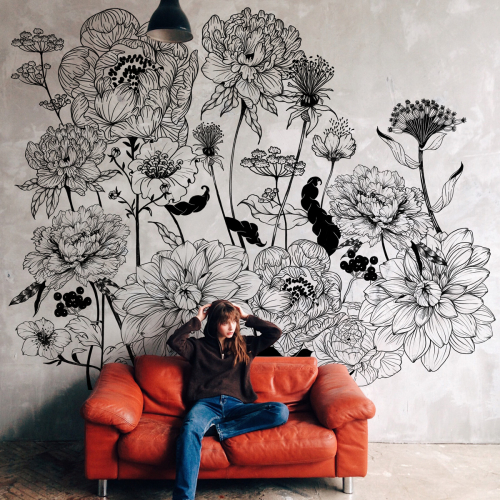 Papier peint panoramique Angora