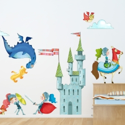 Kid\'s decor : Wall decals for kid\'s room, wall stickers ...