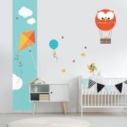 d coration chambre enfant stickers muraux tableaux et papiers peints acte deco. Black Bedroom Furniture Sets. Home Design Ideas